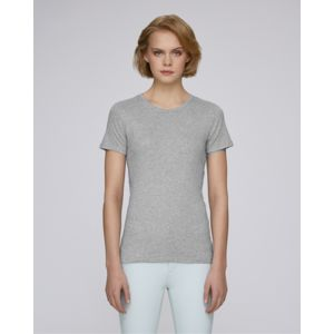 STTW059 Stanley&Stella Recalls T-shirt donna girocollo classica a coste 100% cotone 160gr Thumbnail